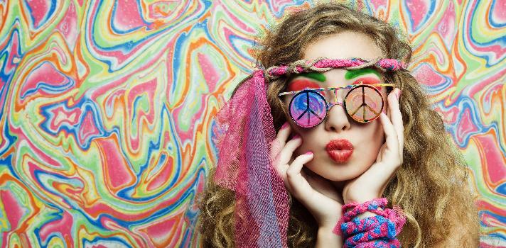 Graduación: cómo planear una fiesta hippie.