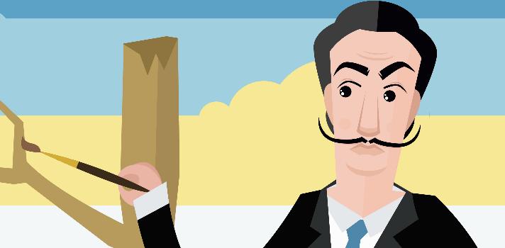 Las mejores frases de Salvador Dalí sobre arte y pintura.