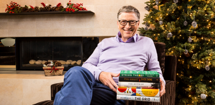 Bill Gates y sus libros favoritos de 2016