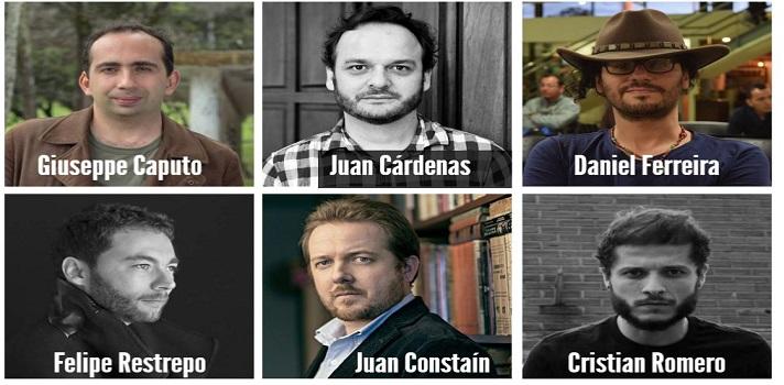 """Escriben ciencia ficción, tienen menos de 40 años, son colombianos, y se cuentan entre los mejores 39 autores de ciencia ficción de <strong>América Latina</strong>, en la más reciente edición de <strong>Bogotá39-2017</strong>.<br/><br/><br/><div class=help-message><h4>Y tu¿qué tipo de lector eres? ¡No te quedes sin saberlo!</h4><a href=https://test.universia.net/lectura/social?utm_campaign=TestLectura&utm_source=Colombia&utm_medium=word class=enlaces_med_registro_universia button01 title=Test Universia target=_blank id=REGISTRO_USUARIOS>Descúbrelo con este test gratuito</a></div><br/><br/><br/><span><span><strong>Giuseppe Caputo</strong>, de<strong> Barranquilla</strong>; <strong>Juan Cárdenas</strong> (<span>docente e investigador del<a href=https://www.universia.net.co/universidades/instituto-caro-cuervo/in/11438 target=_blank></a><span><a href=https://www.universia.net.co/universidades/instituto-caro-cuervo/in/11438 target=_blank>Instituto Caro y Cuervo</a>),</span></span></span></span><strong>Juan Esteban Constaín</strong> (natural de <strong>Popayán</strong>, columnista de <strong>El Tiempo</strong>),<span><span><strong>Daniel Ferreira</strong> (escritor y bloguero),</span></span><strong>Felipe Restrepo Pombo</strong> (<span>director de la revista latinoamericana</span><strong>Gatopardo</strong><span><span>en <strong>Ciudad de México</strong>), y</span></span><strong>Cristian Romero</strong> (titulado en<span><strong>Comunicación Audiovisual y Multimedial</strong> en la <a href=https://orientacion.universia.net.co/que_estudiar/universidad-de-antioquia-99.html class=""""enlaces_med_leads_formacion title=ingresa al portal Orientación de Universia Colombia target=_blank id=ORIENTACION>Universidad de Antioquia</a>), son los seis colombianos que clasificaron entre los 39 seleccionados en la lista final de Bogotá39-2017, una actividad que busca promover a los escritores latinoamericanos de ciencia ficción, menores de 40 años.<br/><br/></span><span><span><span>El proyect"""