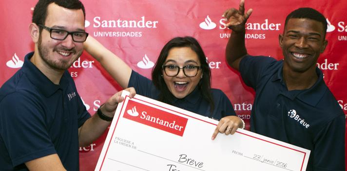 BREVE de la Universidad de Puerto, Rico Recinto de Rio Piedras, ganador del tercer premio.