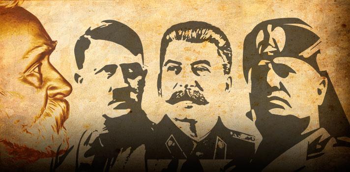 Los dictadores Adolf Hitler, Benito Mussolini y Joseph Stalin, estuvieron nominados a los Premios Nobel de la Paz.