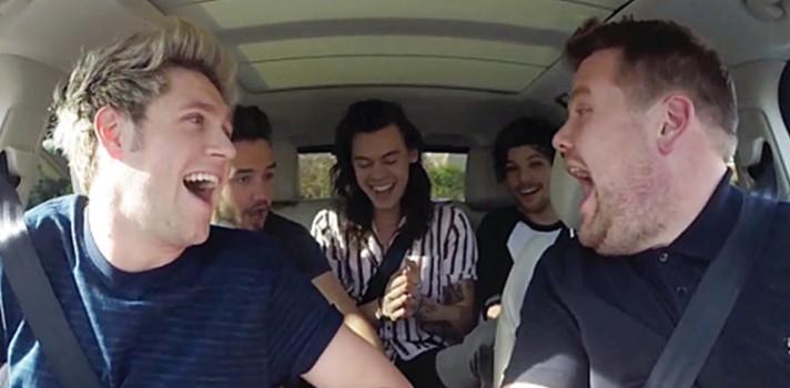Los mejores Carpool Karaoke con Sia, Madonna, Elton John y One Direction