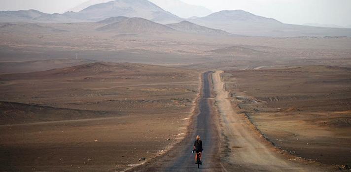Una española da la vuelta al mundo en bicicleta para promover la igualdad de género.