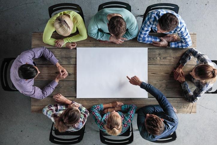As dinâmicas para trabalho em equipe melhoram a motivação e a produtividade.