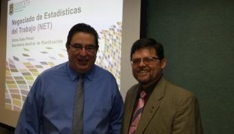 El Dr. Mario Medina Cabán y Vance Thomas