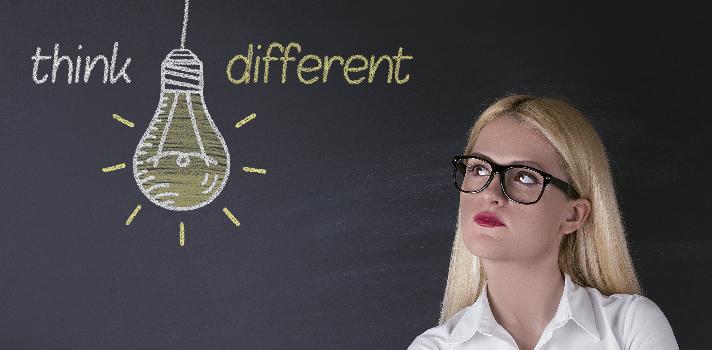 Piensa diferente y cree en tus ideas, ese es el camino para el éxito.