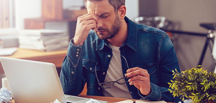 El estrés laboral debe quedarse fuera de tu casa.