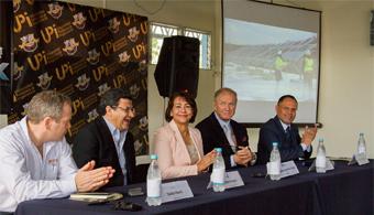 Solar Flex Rack comienza a trabajar en Honduras gracias al patrocinio de la UPI