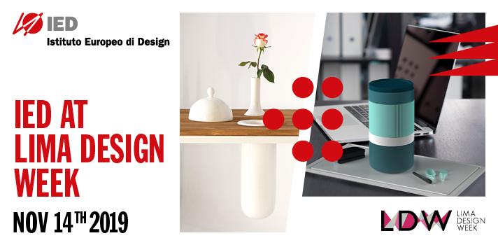 IED participa en la próxima edición de Lima Design Week 2019
