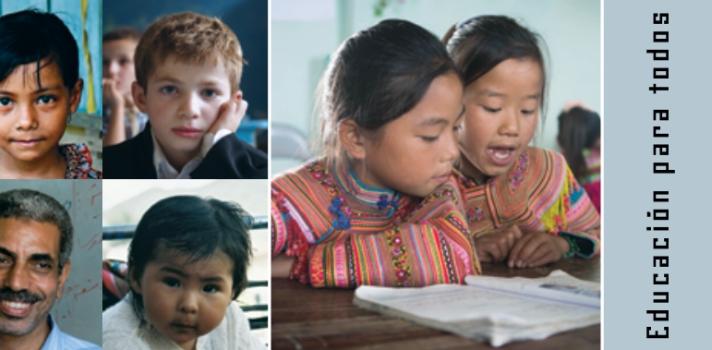 """UNESCO presenta los progresos y los obstáculos educativos en su informe 2015 """"Educación para todos en el Mundo"""""""