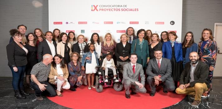 Ganadores de la IX Convocatoria de Proyectos Sociales.