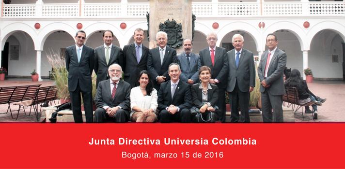Se realizó la Junta Directiva de Universia Colombia