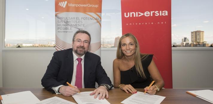 Manpower y Banco Santander, a través de Universia, se unen para impulsar las prácticas profesionales y el empleo juvenil.