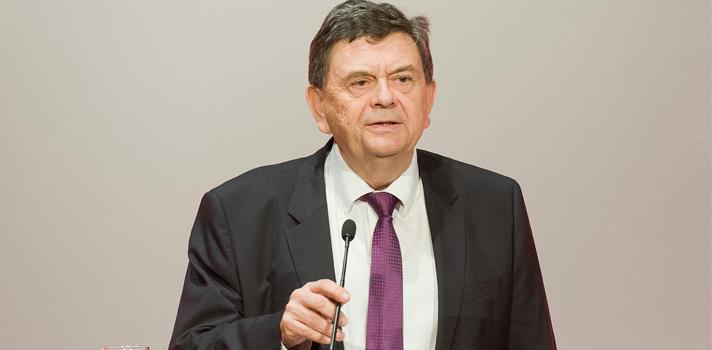 El presidente de la CRUE, Manuel J. López.