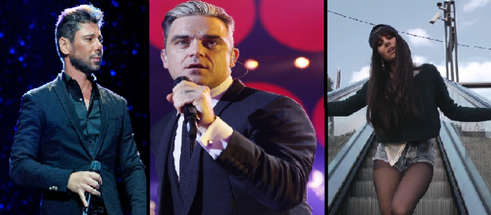 Homenajeamos a Miguel Poveda, Robbie Williams y La Mala Rodríguez en el día de su cumpleaños