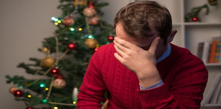La depresión blanca o blues de Navidad es un estado de ánimo pasajero, no es un trastorno.