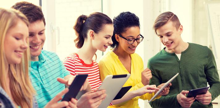 Para los estudiantes las TIC generan un entorno de comodidad y modernidad