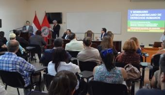 UNA desarrollo el V Seminario Latinoamericano de Derechos Humanos