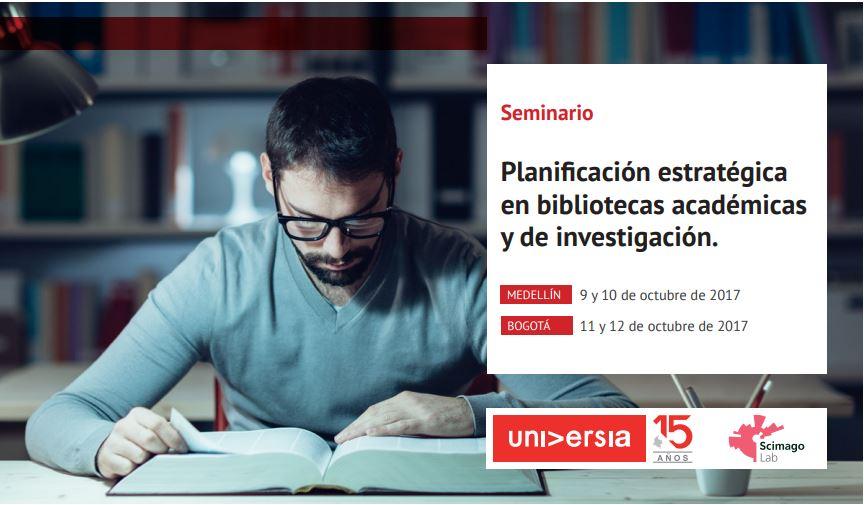 Seminario Planificación estratégica en bibliotecas académicas y de investigación.