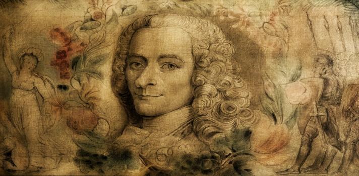 10 frases de Voltaire para recordarlo en su cumpleaños.