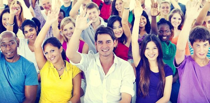 Los jóvenes españoles optimistas pese a todo: casi el 50% cree que su situación mejorará en un año.