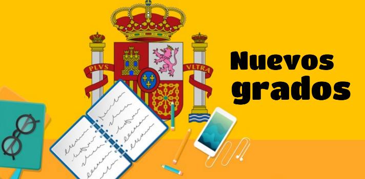 8 nuevos grados que podrás cursar en las universidades españolas.