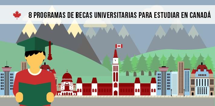 Estudiar en Canadá: conoce estos 8 programas de becas universitarias