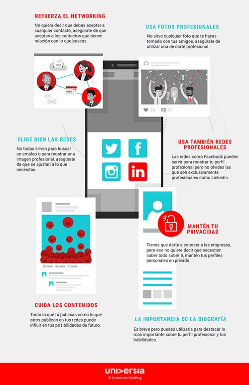 Infografía - ¿Cómo mejorar tu marca personal?