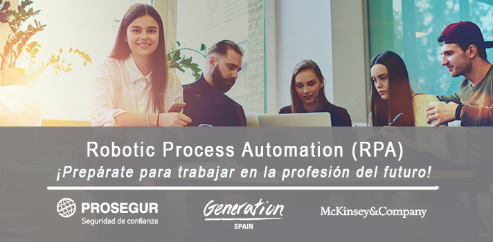 Accede a la profesión del futuro con Prosegur y Generation