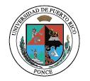 Universidad de Puerto Rico - Recinto de Ponce