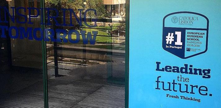 Master in Management da CATÓLICA-LISBON volta a destacar-se no Ranking do Financial Times