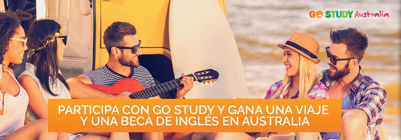 Gana un viaje y una beca para estudiar inglés en Australia