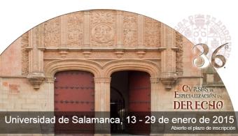 Ya puedes inscribirte a los Cursos de Especialización en Derecho de la Universidad de Salamanca