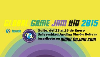 ¿Ya conoces el Global Game Jam UIO 2015 de la Universidad Andina?