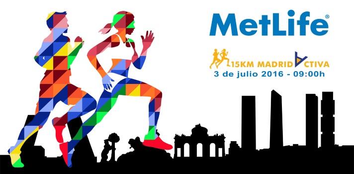 Universia colabora en la II Edición de la 15 KM MetLife Madrid Activa