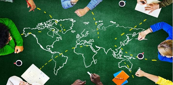 Voluntariado remunerado en organizaciones de 40 países.