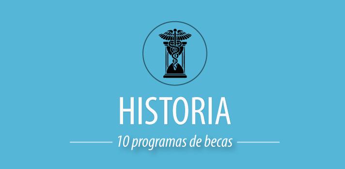 10 programas de becas para estudiar Historia