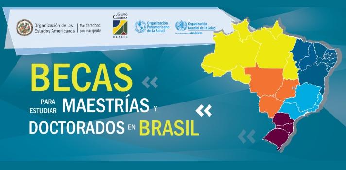Últimos días de plazo para postular a una beca para estudiar en Brasil