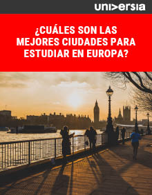 Ebook: ¿Cuáles son las mejores ciudades para estudiar en Europa?