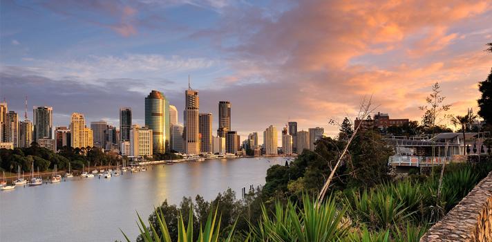 Brisbane, Australia. Una de las tres ciudades, junto con Gold Coast y Sydney, en las que hay una sede de Langports.