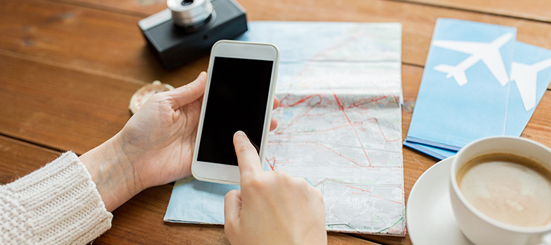 Os 5 melhores aplicativos de viagem