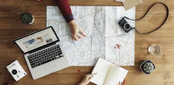 Encuentra un destino asequible para viajar cada mes.