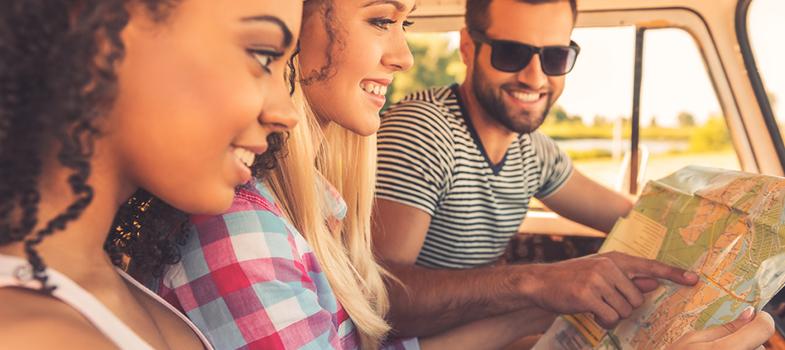 As vantagens de viajar em grupo para o estrangeiro