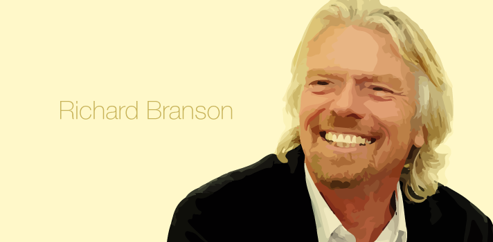 Richard Brandson es uno de los empresarios más alegres y poderosos del mundo