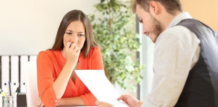 Cómo contar un despido en una entrevista de trabajo.