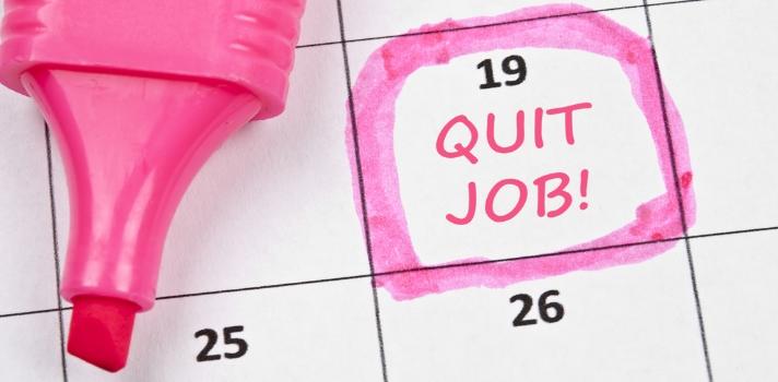 Si se planifica con anticipación, la renuncia no debe ser un proceso traumático o negativo