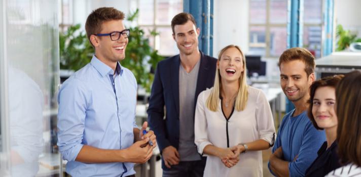 Pequeñas acciones pueden ayudar a crear un clima de trabajo positivo en la oficina