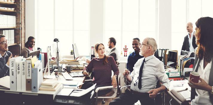 El mundo del trabajo evoluciona hacia un entorno más colaborativo