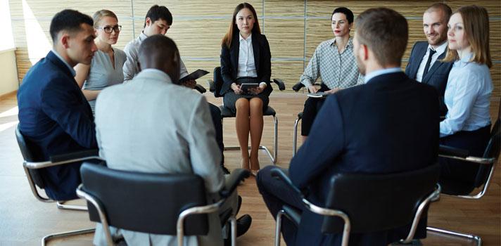 La clave está en mantener las reuniones pequeñas y breves